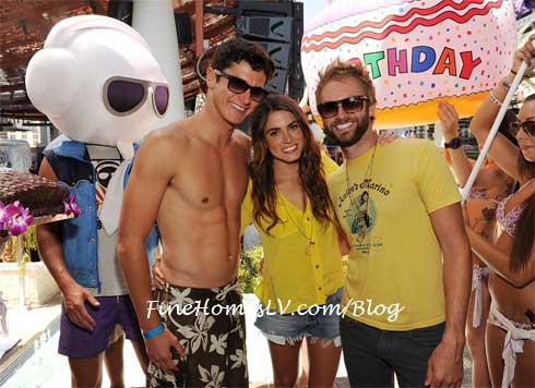 Nathan Reed, Nikki Reed and Paul McDonald