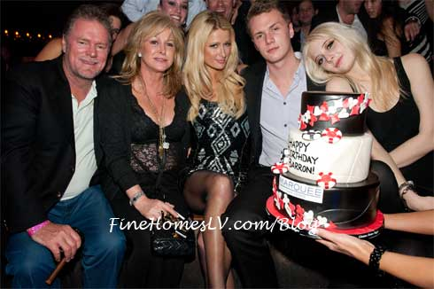 Paris Hilton and Family