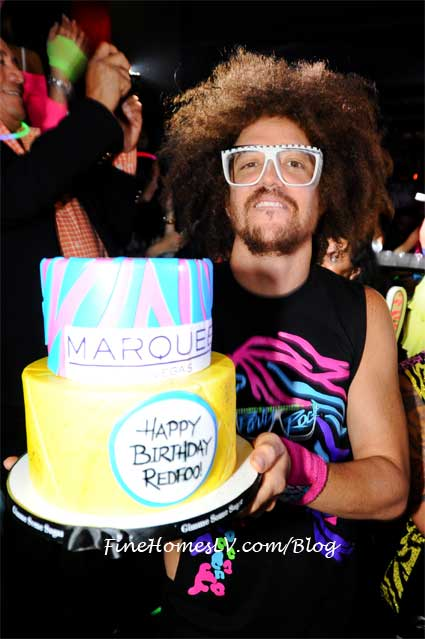 Redfoo Birthday Cake