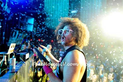 Redfoo Confetti at Marquee Nightclub