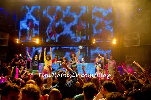 Redfoo of LMFAO At MARQUEE