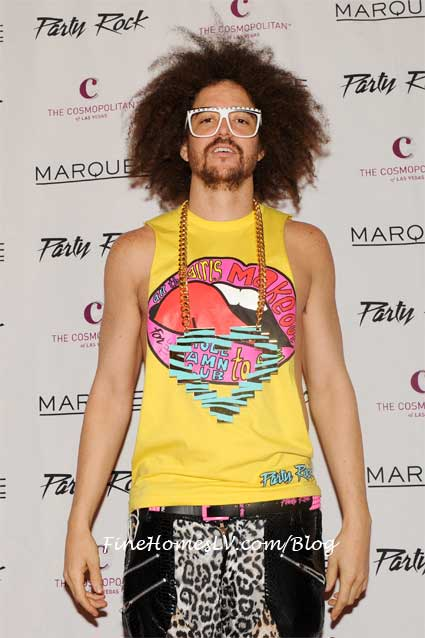 Redfoo On The Red Carpet At Marquee