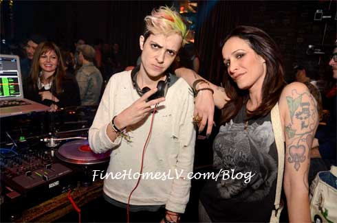 Samantha Ronson at Marquee