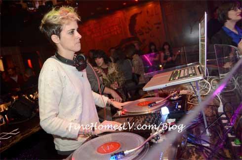 Samantha Ronson at Marquee Nightclub