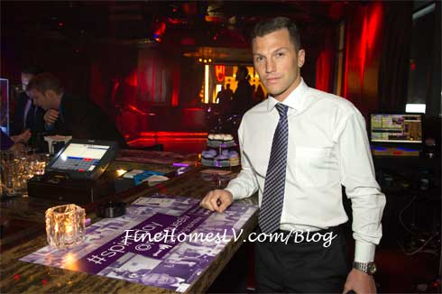 Sean Avery at Marquee Nightclub