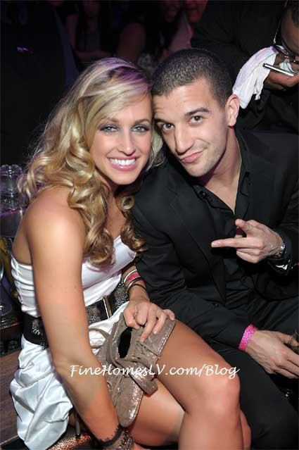 Tiffany Dunn and Mark Ballas