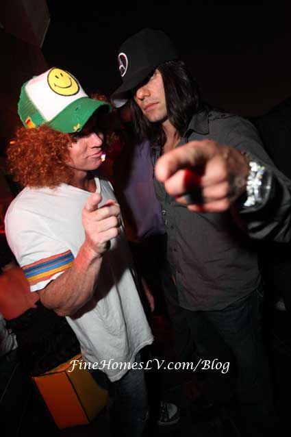 Carrot Top and Criss Angel