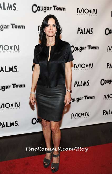 Courteney Cox at Moon Las Vegas
