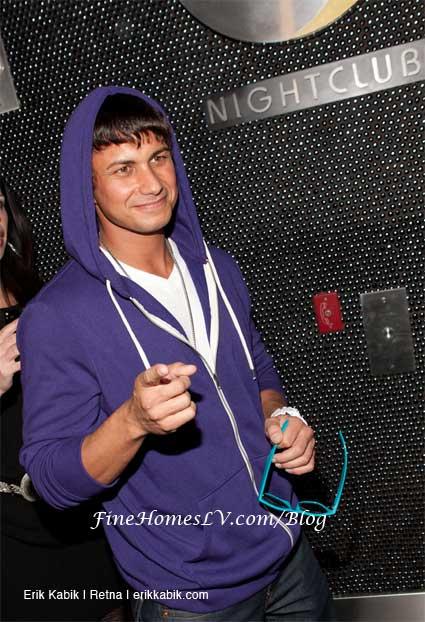 DJ Pauly D as Justin Bieber