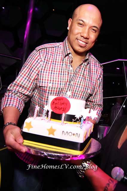Hines Ward Birthday Cake