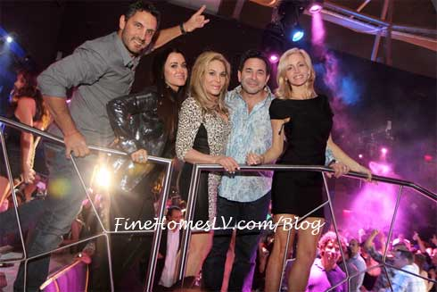 Real Housewives of Beverly Hills at Moon Nightclub