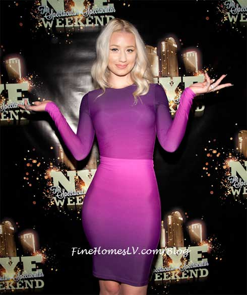 Iggy Azalea On The Red Carpet At MOON