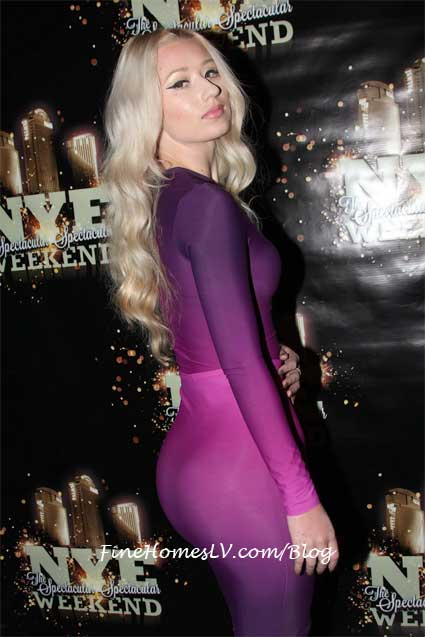 Iggy Azalea at MOON Las Vegas Nightclub