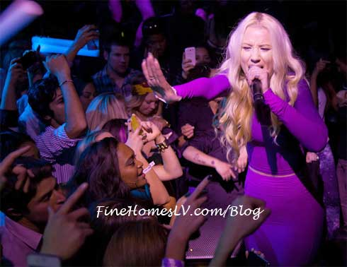 Iggy Azalea At MOON Nightclub