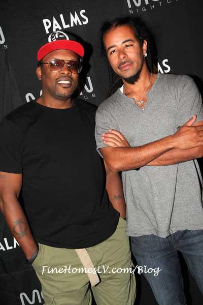 Jazzy Jeff and Chris Kilmore