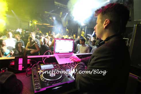 Mark Foster At Moon Nightclub