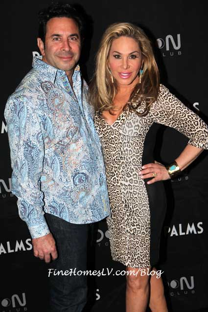 Dr Paul Nassif and Adrienne Maloof
