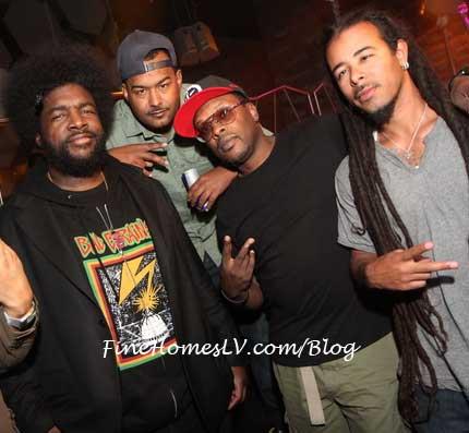 Questlove, MC Skillz, Jazzy jeff and Chris Kilmore
