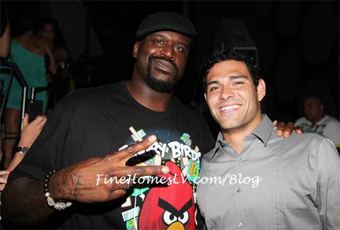Shaq and Mark Sanchez