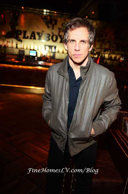 Ben Stiller at Playboy Club