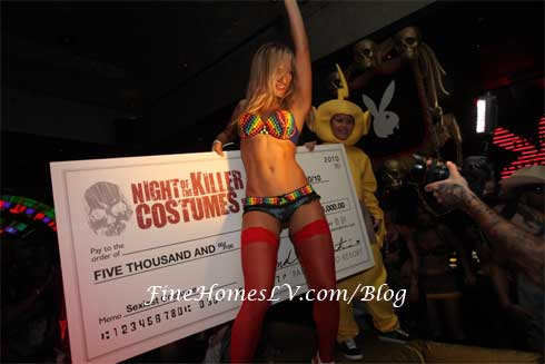 Night of the Killer Costumes at Playboy Club
