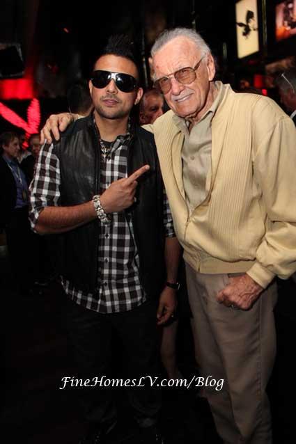 Sean Paul and Stan Lee