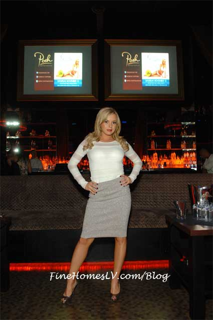 Bree Olson at Posh Nightclub