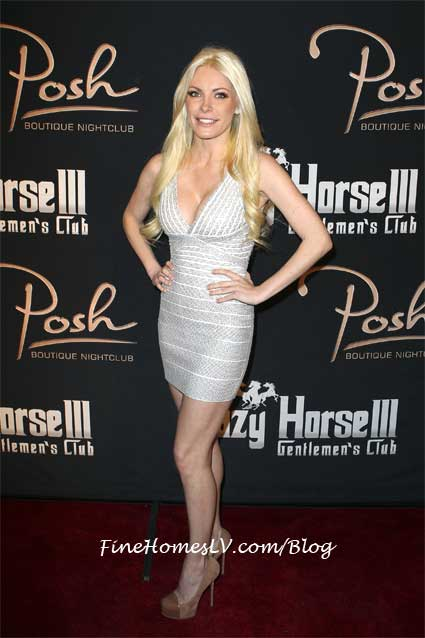 Crystal On The Red Carpet At Posh