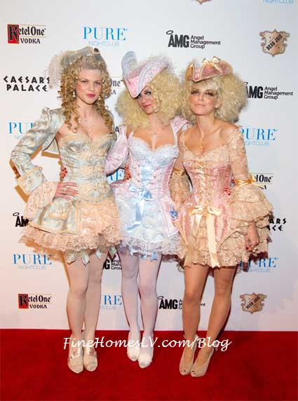 Angel, Rachel and AnnaLynne McCord at PURE