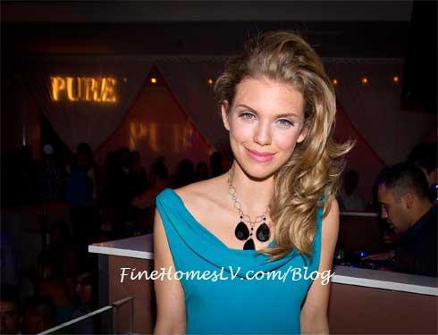 AnnaLynne McCord at PURE Nightclub