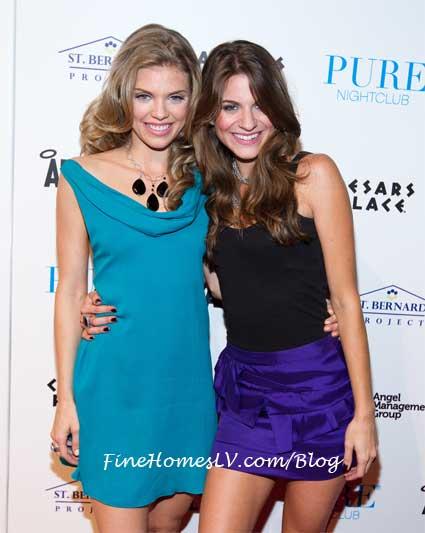 AnnaLynne McCord and Rachel McCord