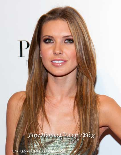 audrina patridge eyes. Audrina Patridge Host PURE Las