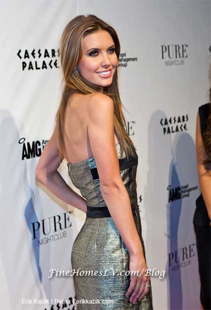 Audrina Patridge at PURE Las Vegas