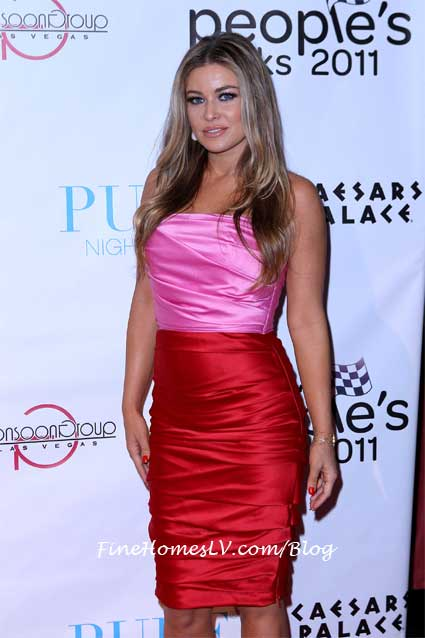 Carmen Electra at PURE Nightclub