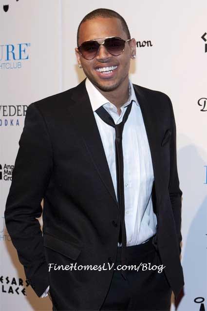 Chris Brown at PURE