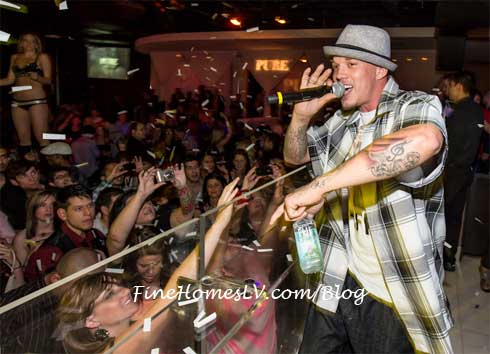 Chris Rene Performs At PURE Las Vegas