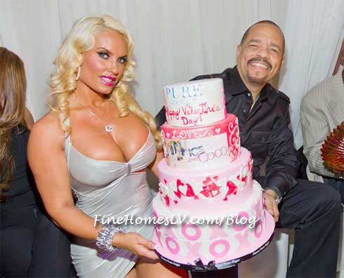 Ice T and Coco at PURE Las Vegas
