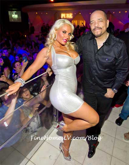 Ice T and Coco at PURE