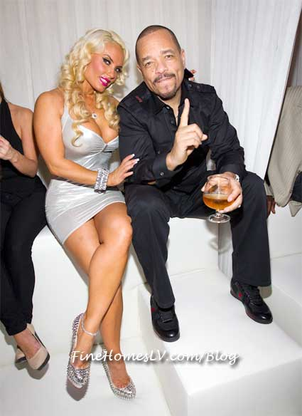 Ice T and Coco at PURE Nightclub VIP Booth