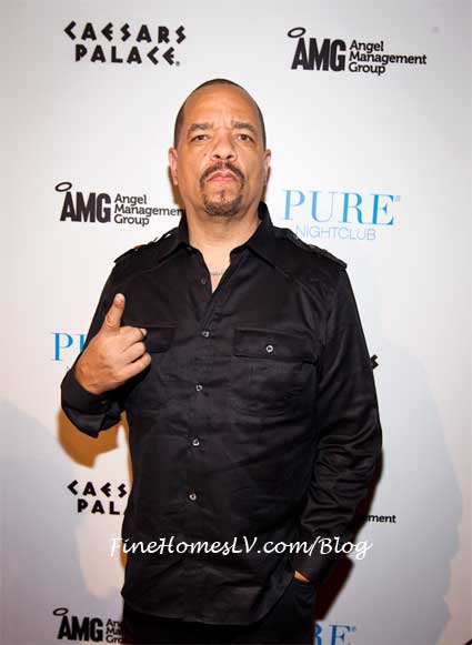 Ice T on the Red Carpet At PURE Nightclub