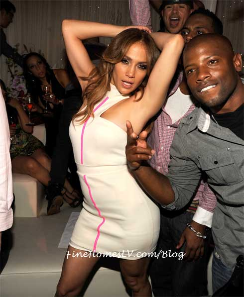 Jennifer Lopez at PURE Nightclub