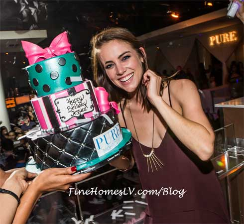 Jessica Stroup at PURE