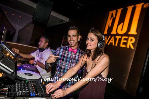 Jessica Stroup, DJ Shift and DJ Cyberkid