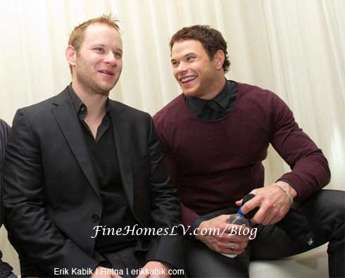 Kellan Lutz and Brother