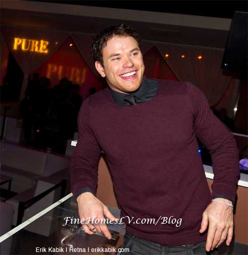 Kellan Lutz at PURE