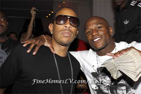 Ludacris and Floyd Mayweather, Jr.