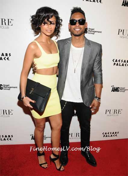 Miguel and Nazanin Mandi at PURE