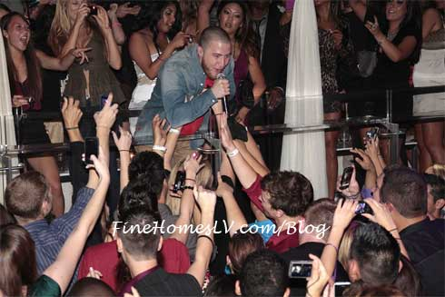 Mike Posner at PURE Nightclub