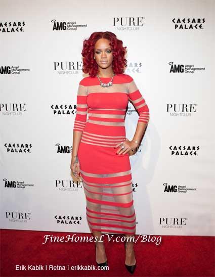 Rihanna at PURE