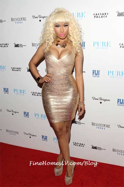 Nicki Minaj at PURE